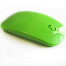 Ultrathin Colors 2.4GHz Wireless USB Optical Mice Mouse For PC Laptop Computer