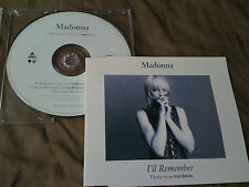 MADONNA / I'll remember / GERMANY LTD CD