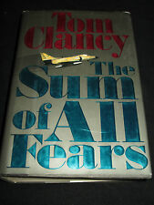 wmf  SALE : TOM CLANCY ~ THE SUM OF ALL FEARS   hb