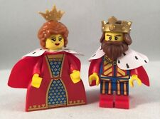 LEGO - Collectible Minifigure - Classic King & Queen - Minifig / Mini Figure