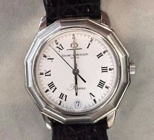 Baume & Mercier Riviera Watch with leather band 1971470