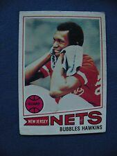 1977-78 Topps Bubbles Hawkins Nets card #22 basketball $1 S&H