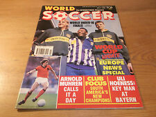 Football Magazine World Soccer July 1989 World Under-16 Finals Euro News Muhren