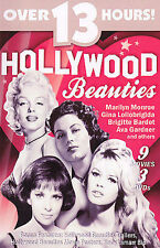 Hollywood Beauties, Brigitte Bardot, Ava Gardner, Gina Lollobrigida, Marilyn Mon