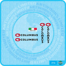 Columbus Fork & Chainstay  Bicycle Decal Transfer Sticker - Set 116