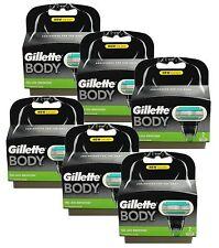 12er Gillette Body Klingen 6x 2er Set Pack XL original Gilette Gillete Gilete