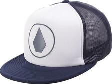 Volcom Mixer Cheese Trucker Hat Cap Mens Navy White Adjustable Snapback New NWT
