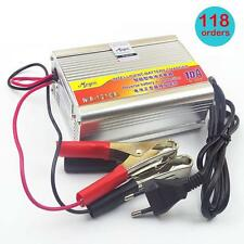 Useful 12V 10A Car Motorcycle Battery Charger Lead Acid Charger 220V EU Plug