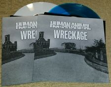 """HUMAN ANIMAL / WRECKAGE - SPLIT 7"""" LOT   BURIED ALIVE  SXE NYHC BROTHERS KEEPER"""