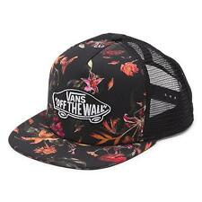 Vans Off The Wall Classic Patch Death Bloom Snapback Trucker Hat Mens New NWT
