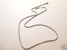 "STERLING SILVER 925 19"" ROPE CHAIN! LOBSTER CLAW! DEFECT! FREE SHIP! THICK!"