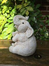 Pequeño Elefante Estatua De Ornamento del jardín de látex mould/mold