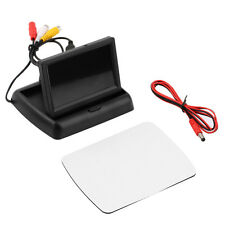 4.3'' LCD TFT Foldable Color Monitor Screen For Car Reverse Rearview Camera DE