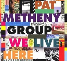 We Live Here [Blister] [Remaster] by Pat Metheny/Pat Metheny Group (CD,...