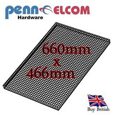 Speaker Cabinet Steel Mesh Grille with Returns  660 x 466mm