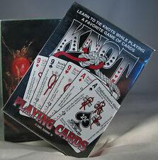 15% Off Knot Playing Cards + Edible Plants ID Cards Western Wilderness Survival