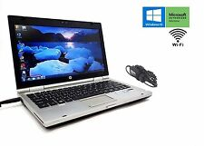 "HP EliteBook 2560P Core i5 2520M 2.5GHz 320GB 4GB RAM 12.5"" DVD Windows 10 Pro"
