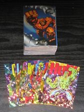 1994 Marvel Pepsi Spanish/Mexico Base & Prism Card Sets NM/M ULTRA RARE!!