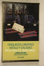Orquesta Libertad Estilo Y calidad Canon records 1987(Audio Cassette Sealed)