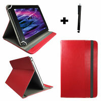 7 zoll Tablet Pc Tasche Schutz Hülle Etui -  Android 3G Phone Tablet Case Rot 7