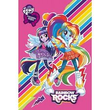 Towel 60X40cm 100% Cotton Equestria Girls My Little Pony LICENSED Towel UK Store