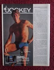 1983 Print Ad Jockey Men's Underwear Briefs ~ Jim Palmer Baseball Star POCO