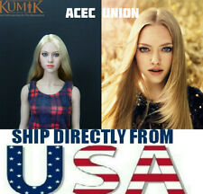 KUMIK Amanda Seyfried 1/6 Head Sculpt For Hot Toys Female Body - U.S. SELLER