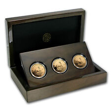 1967- 2017 South Africa 3-Coin Krugerrand 50th Anniv Proof Set - SKU #114877