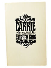 Stephen King CARRIE First Edition US Advance Proof , Near Fine 1st Case + Letter