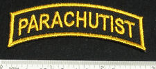 Set of 2 PARACHUTIST Patches for Skydiving Parachute Rig Gear Container 25Q