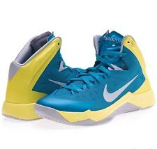 NEW Nike Men's Hyper Quickness Basketball Shoes Turquoise 599519-300 Size 11.5