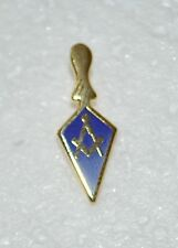 Masonic Royal & Select Masters Gold Plated Trowel Lapel Pin (LP036)
