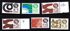 MEXICO Exporta # 1116-1120a six stamps 7th paper  MNH,VF