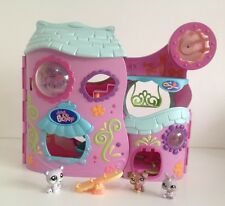 """LPS Littlest Pet Shop Tail-Waggin Fitness Club Playset 17"""" Wide 3 Figures��"""