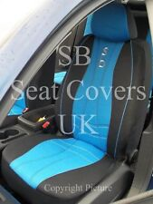 TO  FIT A HONDA JAZZ, CAR SEAT COVERS, MAX SPORTS BLUE FULL SET