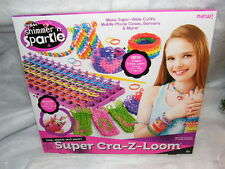 CRA Z-Art Shimmer n Sparkle Ultimate KIT LOOP, tessere e indossare! Crazy ART