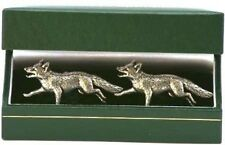 Fox Cufflinks gift for hunting , shooting gents