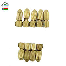 9pcs 3.17mm and 2.3mm  Motor Shaft Copper Micro Drill Chuck Clamp Collet Tool