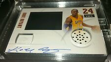 2012-13 Totally Certified HRX Video Card Kobe Bryant  Autograph Auto 1/1 /10