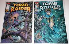 TOMB RAIDER The Series #1 & #2 1999 Finch Cover GGA Dan Jurgens IMAGE Top Cow NM