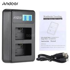 Camera Dual Battery Charger for SONY A7 A5000 A6000 NEX3/5/5R/5T/6/7/C3/F3 G4O6