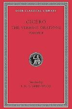 Loeb Classical Library: The Verrine Orations Pt. 2, Bks. 3-5 : Against Verres...