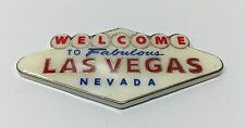 Welcome To Fabulous Las Vegas Sign Strip Casino Magnet Metal