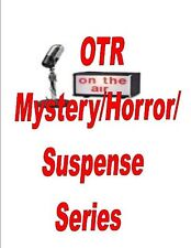 OLD TIME RADIO MYSTERY HORROR VOL 2 MP3 DVD 900+SHOWS