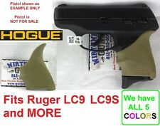 FDE Tan Earth Hogue Rubber HandAll Beavertail Grip Sleeve fits Ruger LC9 LC9s