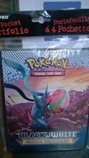 Pokemon Black & White Noble Victories 4 Pocket Page Portfolio Album Binder