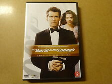 2-DISC ULTIMATE EDITION DVD / JAMES BOND 007 -  THE WORLD IS NOT ENOUGH