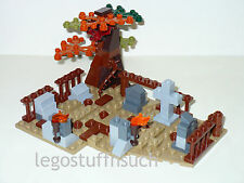 NEW LEGO Castle kingdom medieval Village Halloween grave yard cemetery RIP Fall