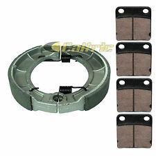 FITS YAMAHA BEAR TRACKER 250 YFM250 2000-2004 FRONT & REAR BRAKE PADS SHOES