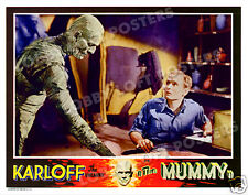 THE MUMMY LOBBY SCENE CARD # 3 POSTER 1932 BRAMWELL FLETCHER IMHOTEP